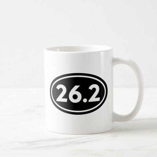 26,2 Óvalo del maratón (#GEO1) Taza De Café