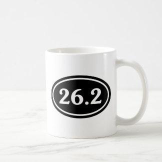 26,2 Óvalo del maratón (#SOU2) Taza De Café