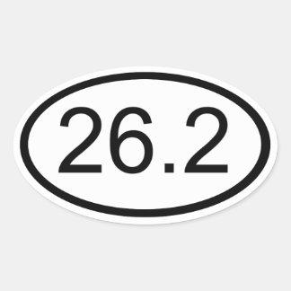 26,2 CALCOMANÍAS OVALES PERSONALIZADAS