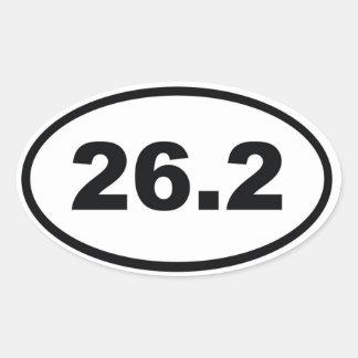 26,2 CALCOMANÍA DE ÓVAL PERSONALIZADAS