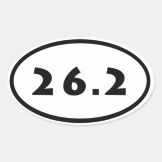 26,2 CALCOMANÍA OVAL