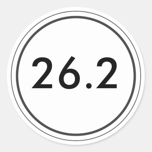 26,2 Pegatina blanco