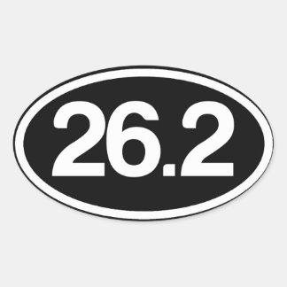 26,2 Pegatina completo del maratón