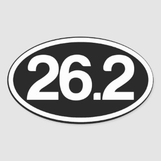 26,2 Pegatina (pegatina completo del maratón)