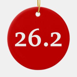 26.2 pride ornament
