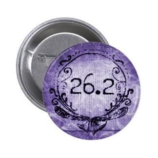 26 2 Púrpura del escudo Pins