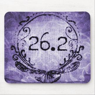 26,2 Púrpura del escudo Alfombrillas De Raton