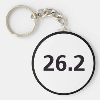 26.2 round keychain