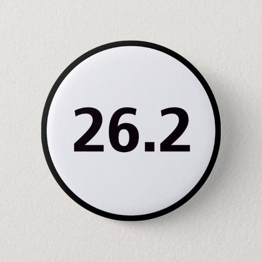 26.2 round pinback button