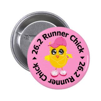 26 2 Runner Chick Button