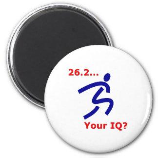26,2 ¿Su índice de inteligencia? Imán Redondo 5 Cm