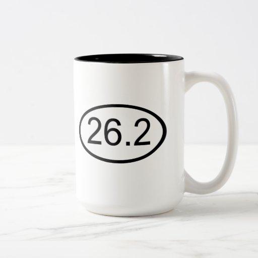 26,2 TAZA DE DOS TONOS
