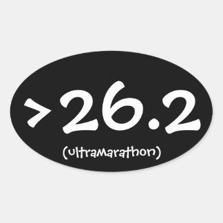 >26.2 (ultramarathon) sticker
