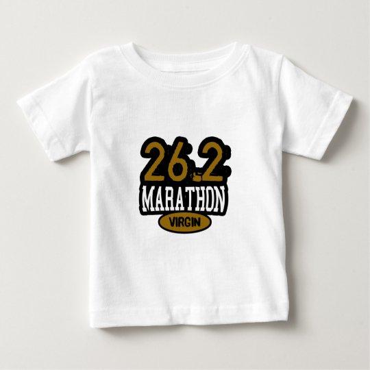 26,2 Virgen del maratón Playera De Bebé