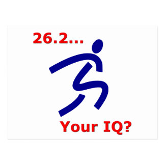 26 2 Your IQ Post Cards
