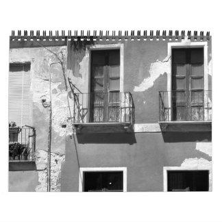 26,5 Sombras del gris Calendario De Pared