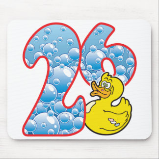 26 Age Duck Mouse Pad