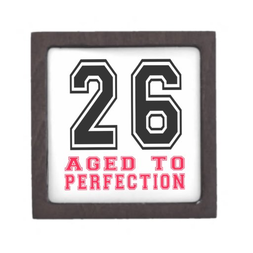 26 Aged to Perfection Premium Gift Box