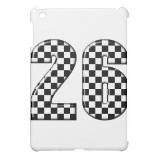 26 auto racing number case for the iPad mini