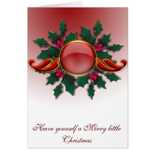 26 days until Christmas Card