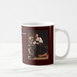 26 de noviembre. Catherine de Alexandría Tazas De Café