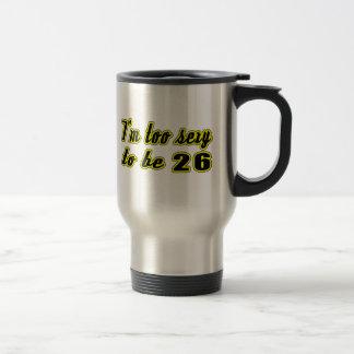26 diseños del cumpleaños tazas de café