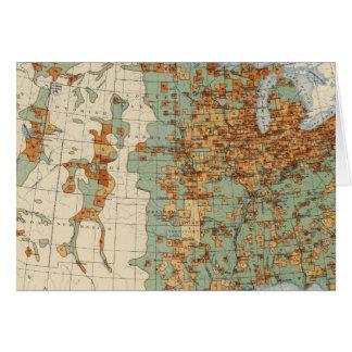 26 Population in cities >2000 inhabitants, 1900 Card
