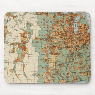 26 Population in cities >2000 inhabitants, 1900 Mouse Pads