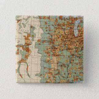 26 Population in cities >2000 inhabitants, 1900 Pinback Button