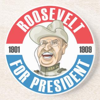 #26 Theodore Roosevelt Campaign Coaster