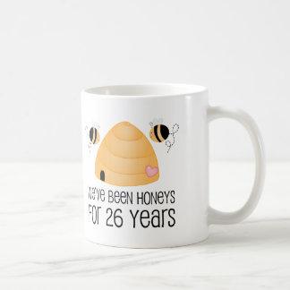 26th Anniversary Couple Gift Coffee Mug