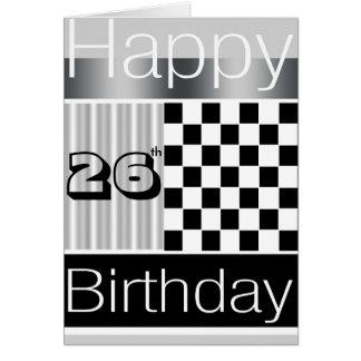 26th Birthday Card