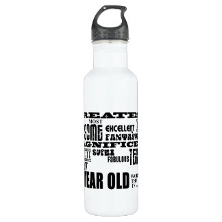 26th Birthday Party Greatest Twenty Six Year Old Stainless Steel Water Bottle