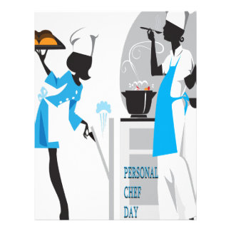 26th February - Personal Chef Day Letterhead