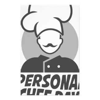 26th  February - Personal Chef Day Stationery