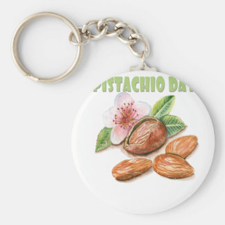 26th February - Pistachio Day - Appreciation Day Keychain