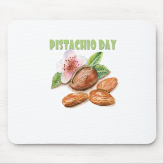 26th February - Pistachio Day - Appreciation Day Mouse Pad