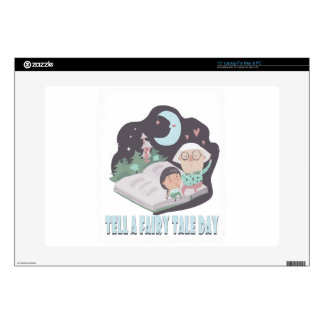 """26th February - Tell A Fairy Tale Day 15"""" Laptop Skins"""