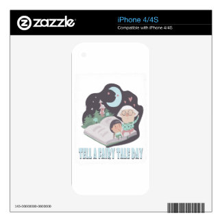 26th February - Tell A Fairy Tale Day Decals For The iPhone 4S