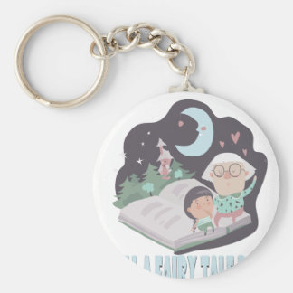 26th February - Tell A Fairy Tale Day Keychain