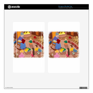 26th February - Tell A Fairy Tale Day Kindle Fire Skins