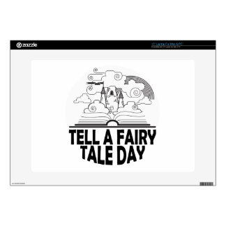 26th February - Tell A Fairy Tale Day Laptop Decals