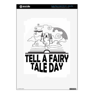 26th February - Tell A Fairy Tale Day Skins For iPad 3