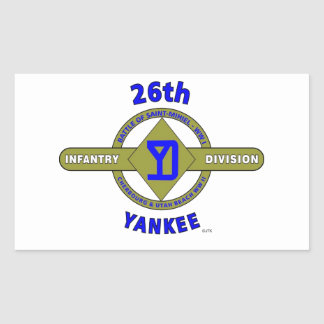 26TH INFANTRY DIVISION YANKEE STICKER