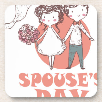 26th January - Spouse's Day Beverage Coaster