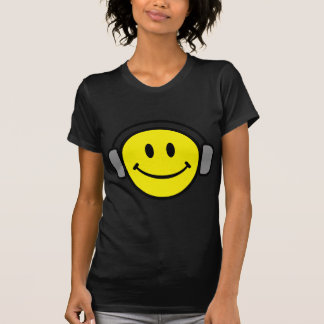 2700-Royalty-Free-Emoticon-With-Headphones EMOTICO Camisetas