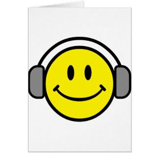 2700-Royalty-Free-Emoticon-With-Headphones EMOTICO Tarjeta De Felicitación