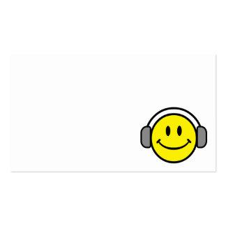 2700-Royalty-Free-Emoticon-With-Headphones EMOTICO Tarjetas De Visita