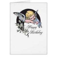 2702 Angel Birthday Cards