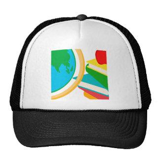 2727-Elementary-School-Design-Globe ESCUELA EDUCAT Gorro